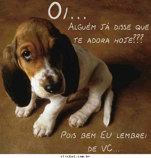 Cachorrinhos Recados Para Facebook E Orkut Megamensagens